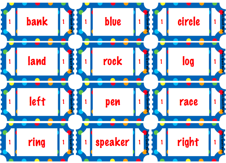 Carnival Games For Grammar Amp Vocabulary