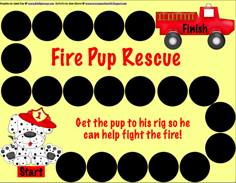 Fire Safety Game Fire Safety Week And Freebie