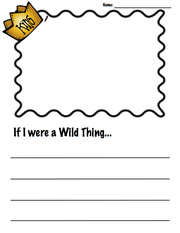 Wild Things… and a little piece of me!