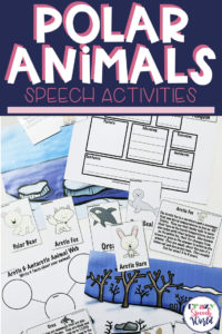 Arctic & Antarctic Animal Language Packet