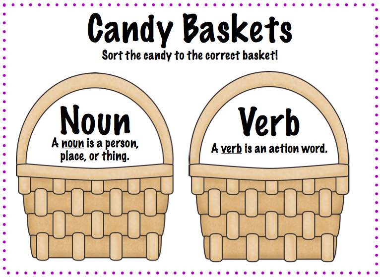 candy, you could have them choose one from each basket and make