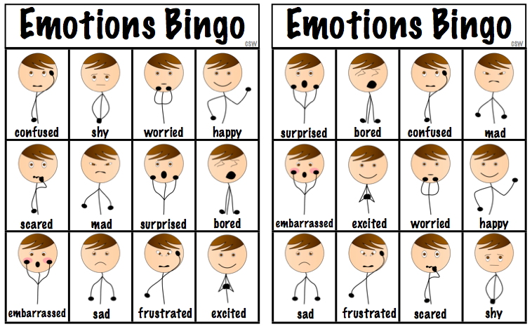 Emotions Worksheet For Esl Along With Vba Reference Worksheet By ...