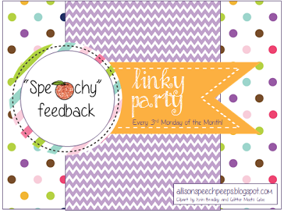 http://allisonspeechpeeps.blogspot.com/2013/11/speachy-feedback-linky.html