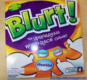 Things I love: Blurt!