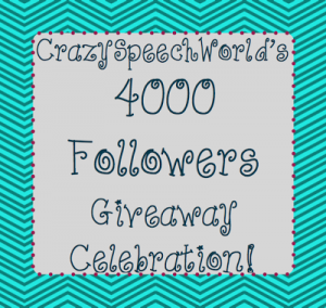 4,000 Follower Giveaway!