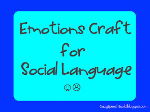 Emotions Craftivity {Guest Post}