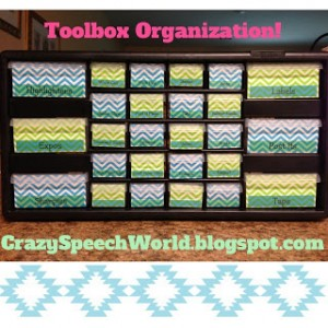 DIY Toolbox Organization!
