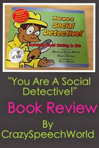 You Are A Social Detective! {Review}
