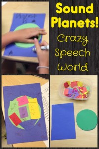 Speech Planets! {Craft-vity}