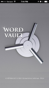 Word Vault {App Review & Giveaway!}