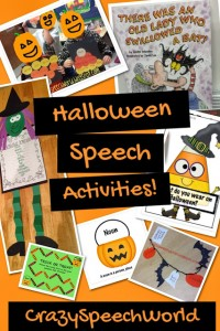 Halloween Speech Ideas!