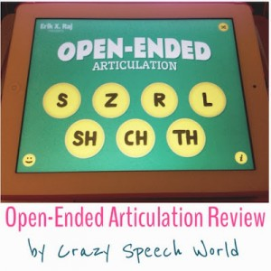 Open Ended Articulation {App Review & Giveaway!}