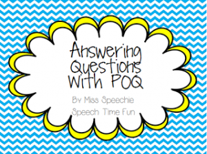 Answering Questions with POQ {Guest Post & FREEBIE!}