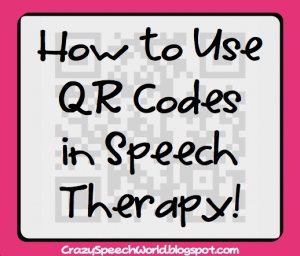 How to Use QR Codes in Speech Therapy