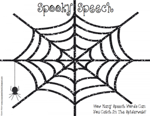 Spooky Speech {Freebie!}