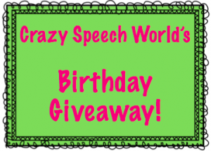 Crazy Birthday Presents! {Giveaway}