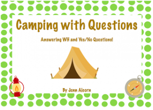 Camping with Questions!