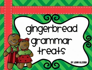 Gingerbread Grammar {plus FREEBIE}