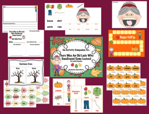 Old Lady Fall Activities! {AND Giveaway}