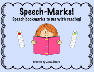 Speech-Marks! {Carryover + FREEBIE!}
