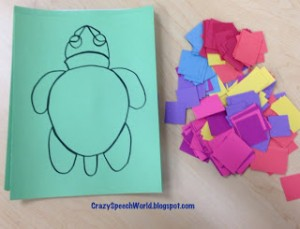 Using Craftivities in Speech…And Sea Turtles!