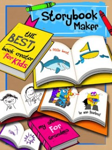Storybook Maker {App Review & Giveaway!}