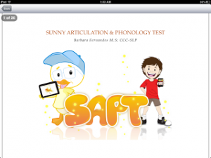 Sunny Articulation & Phonology Test App Review