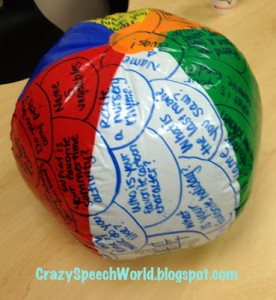 Beach Ball Therapy!