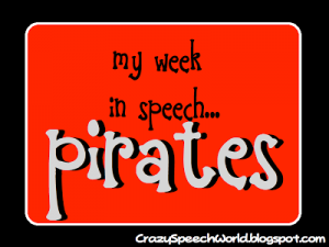 Pirate Speech Activities!
