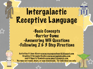 Intergalactic Receptive Language
