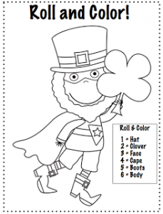 Super Leprechaun to the Rescue {FREEBIE}
