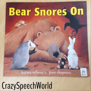Bear Snores On Book Companion (Plus Giveaway!)