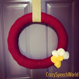 School Spirit Wreath!