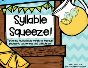 Lemonade Syllables!