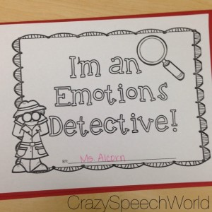 Emotion Detective Books!