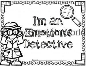 Emotions Detective book