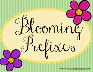 blooming prefixes
