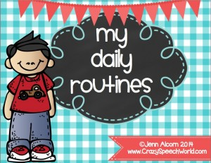 Daily Routines {New Product}