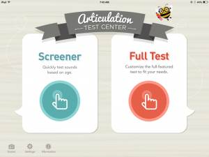 Articulation Test Center {App Review}