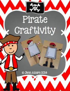 Pirate Craftivity!
