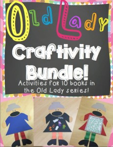Old Lady Craftivity Bundle!