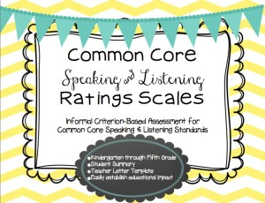 Common Core Scales