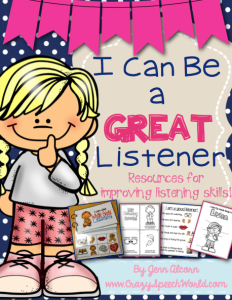 I can be a great listener