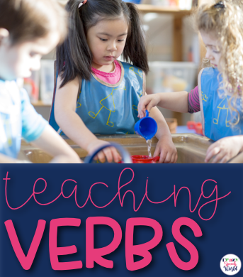 teaching verbs