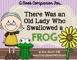 Old Lady Frog Book Companion