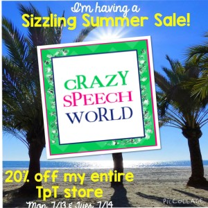 Crazy Speech World: Summer Sale