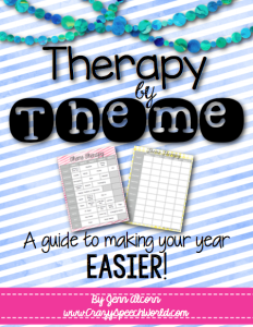 Theme Therapy {FREEBIE!}