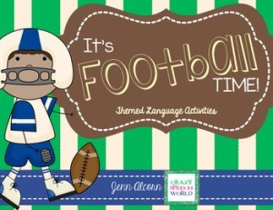 Football Time for Speech Therapy