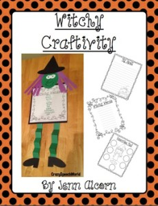 Crazy Speech World:  Witch Craftivity
