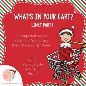 Cyber Monday:  What's In Your Cart?  {Linky}